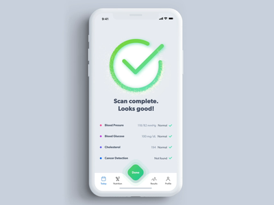Health Scanner: Helping you be aware of your body medicine health app healthapp mobileapp ios application app medical health healthcare design ux xd adobexd хаджиев страхил primedivision sevilaxiom strahil hadzhiev