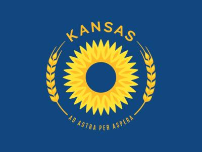 Kansas State Flag Update