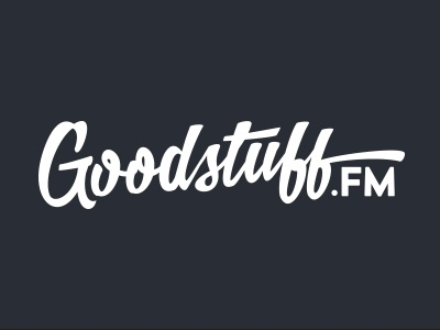 Goodstuff.fm technology website script typography network