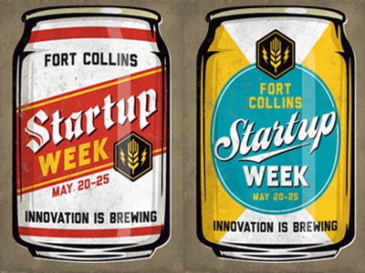 Fort Collins Startup Week Promo Posters