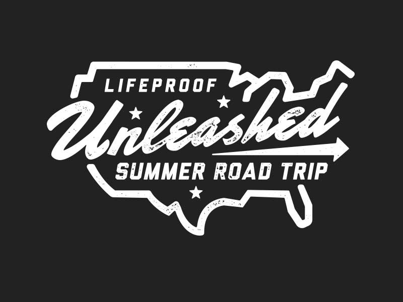 LifeProof Unleashed stars arrow script america road trip road trip summer