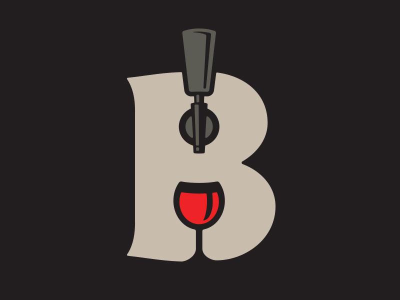 Wine Tap Icon pour glass bar restaurant spirits keg handle tap wine