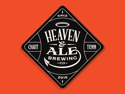 Heaven & Ale Brewing Co. Coaster