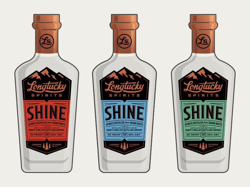 Longtucky Bottles longmont kentucky mountains trees pines colorado alcohol whiskey spirits copper