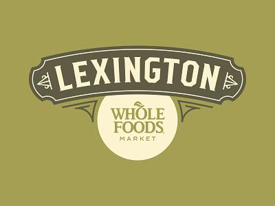 Whole Foods Lexington Community Mark sign market produce food kentucky lexington organic grocery