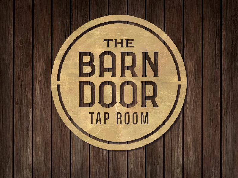 The Logo And Signage For Barn Door Tap Room Located In Whole Foods Market Lexington Kentucky Is Laser Cut Distressed Brass On