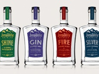 Longtucky spirits labels