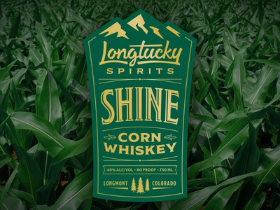 Longtucky Shine Label