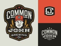 Common John Brewing Co. Logos