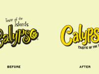 Calypso beforeafter