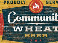 Community Wheat Beer