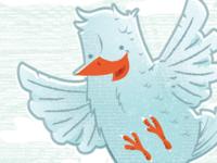 Blue Bird Texture