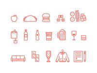 DBX Icons Illustrations