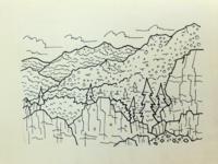 Foothills Doodle