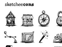 sketcheecons