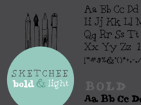 Sketchee Fonts
