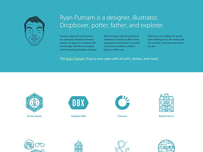 Portfolio Update illustration web ui layout typography logos work portfolio