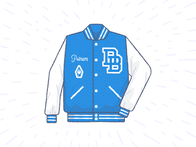 DropJacket illustrations vector jacket clothing brand typography texture