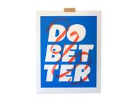 Do Better Print