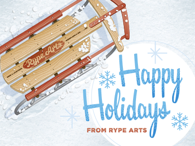 Rype Arts Holiday Card