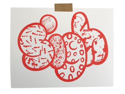 Sigh 02 texture sign print riso illustration typography