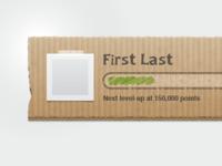 Cardboard UI