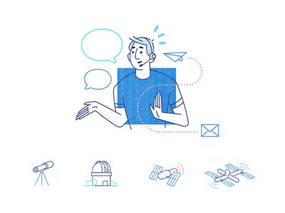 MessageBird Illustrations and Icons 2