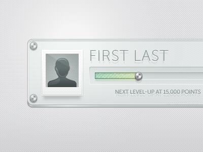 Glass UI vector illustrator ui glass texture progress bar image avatar polaroid