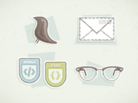 Vintage Mill Icons