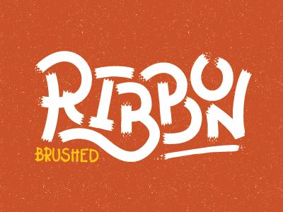 Vm brushed ribbon