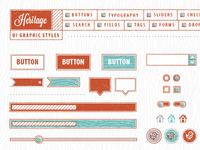 VM Heritage UI Graphic Style