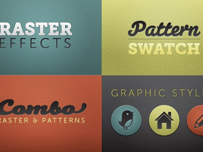 Texture Overload vector texture typography icons