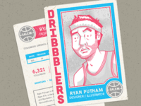 My Dribbblers Basketball Card