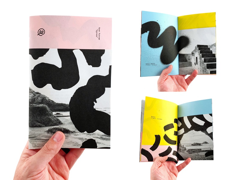 Egress Zine music bay area print design risograph zine texture illustration