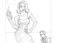 Detective Pulp Sketch