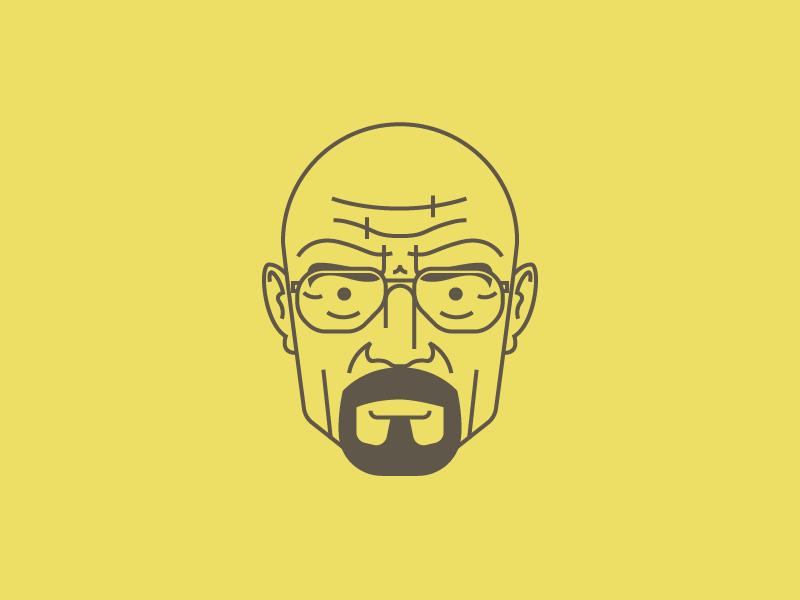 Walter White vector illustration avatar walter white breaking bad wallpaper