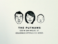 The Putnams Stamp