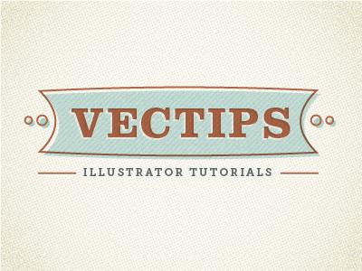 Retro Type Tut vector illustrator logo texture tutorial