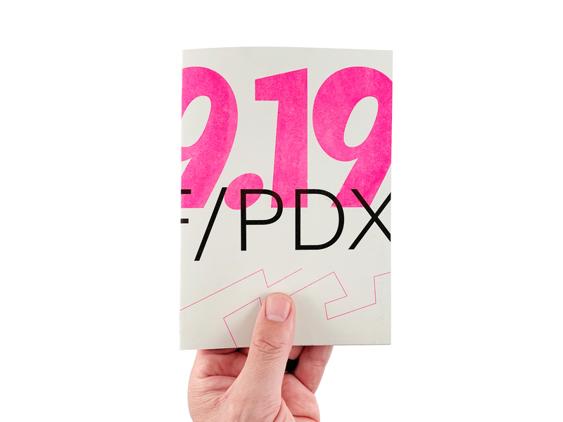 09-19 SF/PDX photography illustraion typogaphy risograph print zine