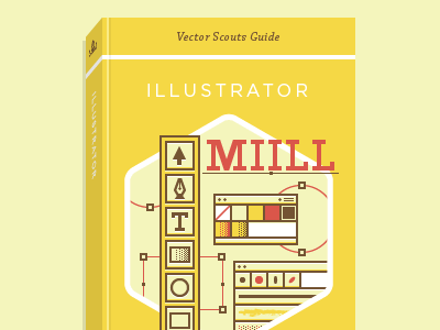 VS Guide Cover Template vector illustrator illustration icons swatches dialog pen tool tools typography cover book template