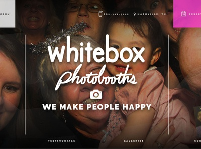 Whitebox Photobooths Home Page