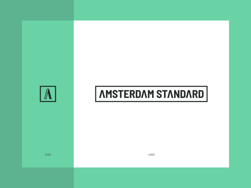 Logo and Icon Design - Amsterdam Standard brand identity icon branding logo design
