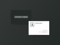 Business Card - Amsterdam Standard