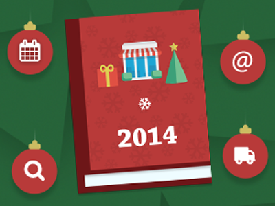 Holiday Guide 2014 banner banner illustration christmas prestashop