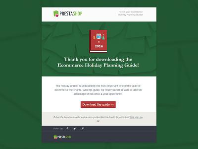 Holiday Guide Mail x2 mail responsive illustration christmas prestashop