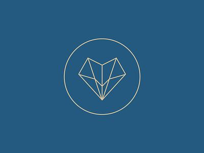 Orenda Logo Design thin line lines heart airplane travel circle logo orenda