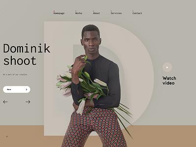 Bitplatz cocoa web minimal fashion design ux ui