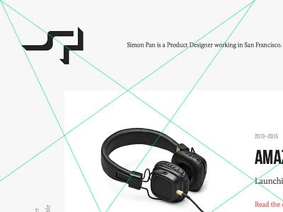 Portfolio Redesign Exploration designer redesign minimal website portfolio grid