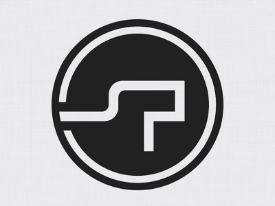 Simon Pan Finished Logo logo monogram user experience ux