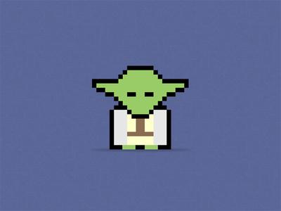 Chiptune Yoda yoda jedi 8bit 8-bit